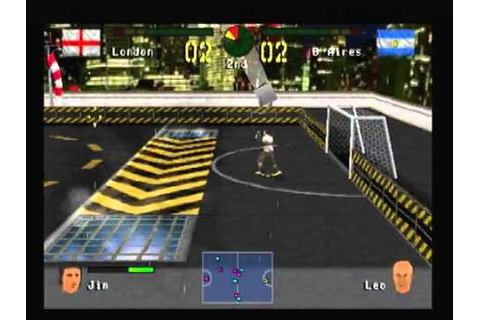 PS1 - Chris Kamara's Street Soccer - Match 2 - London vs ...