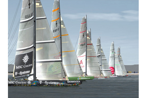 Demo: Virtual Skipper 5 - 32nd Americas Cup - Download - CHIP