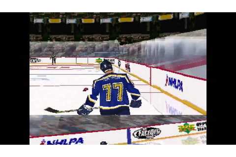 NHL FaceOff 2000 ... (PS1) - YouTube