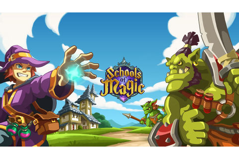 Become a Mage With Schools of Magic - Codigames
