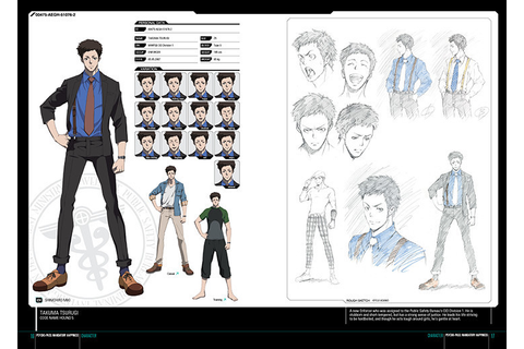 PSYCHO-PASS: Mandatory Happiness - Digital Art Book ...