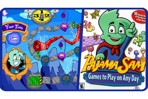 Pajama Sam: Games to play on any day - YouTube