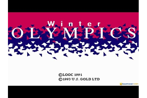 Winter Olympics: Lillehammer '94 gameplay (PC Game, 1993 ...