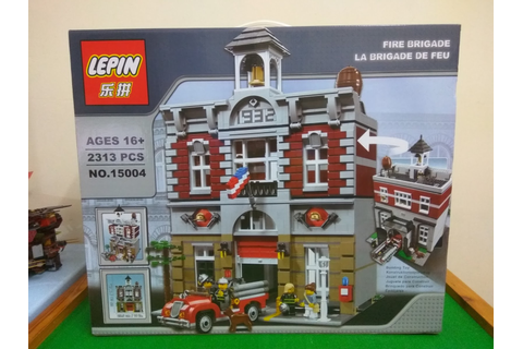 .: Monkeys Can Game :.: LEPIN 15004 Fire Brigade Review