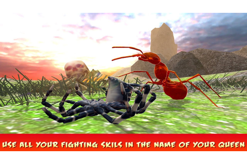 Ant Fighting Colony War Game - Ants Army Battle Gameplay ...