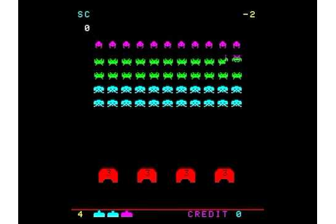 SPACE INVADERS PART 2 ARCADE MAME VIDEO GAME TAITO 1979 ...