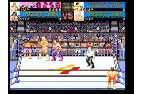 Main Event: Konami Wrestling Retro Arcade Game 1 - YouTube