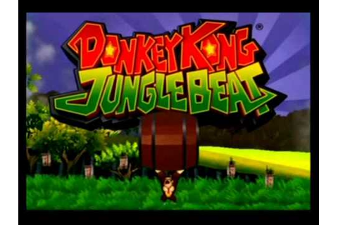 Donkey Kong Jungle Beat 100% Walkthrough Part 1 - Opening ...