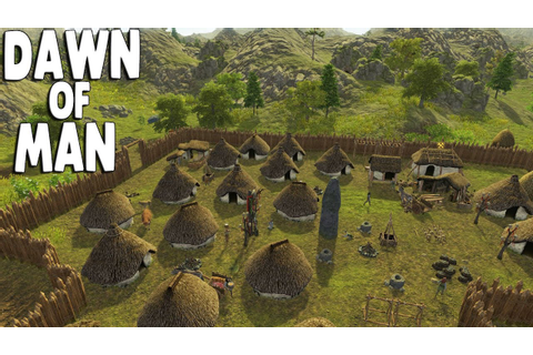 DAWN OF MAN Ep. 11 - RAIDER ARMY AT THE WALLS ...