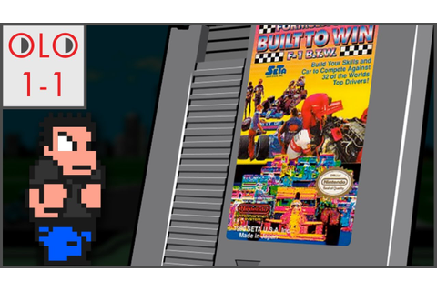 Formula One Built to Win - NES - Only Level One - YouTube