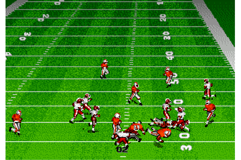 Play Bill Walsh College Football Online - Play All Sega ...