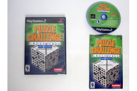 Puzzle Challenge Crosswords and More game for Sony ...