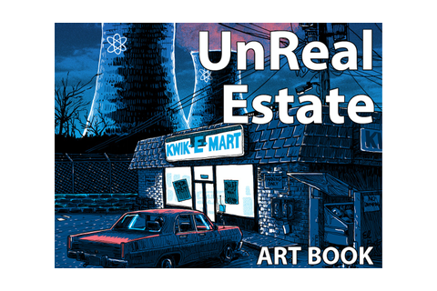 UnReal Estate- Television Pop-Art Book by artist Tim Doyle by Tim ...