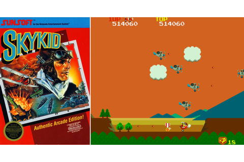 Play Sky Kid on NES