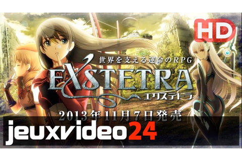 Exstetra - New Trailer HD (PS Vita, 3DS) - YouTube