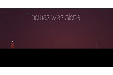 Thomas was alone: a minimalist game about friendship