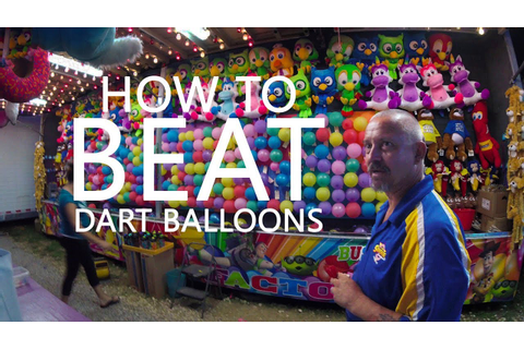 KEN HERON - How To BEAT a Carnival Dart Game with ...