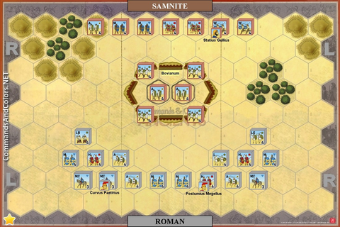 Campaign Game - Samnite Wars - Ancients - Commands and ...
