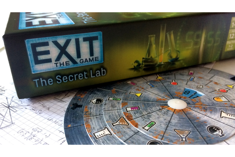EXIT: The Game – The Secret Lab Review | Polyhedron Collider