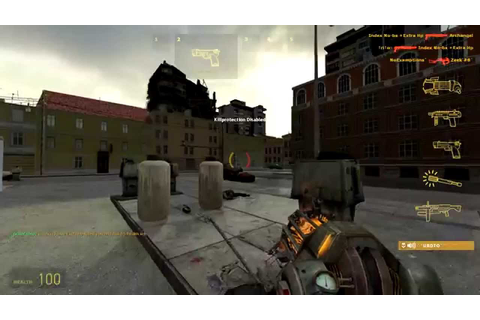Half-Life 2 Deathmatch gameplay #2 - YouTube