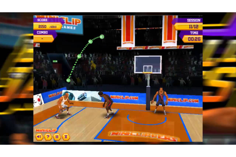 Basketball Jam Shots – filmiki z gry Basketball Jam Shots