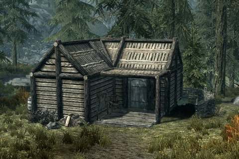 Image result for video game cabin forest | Take It Easy ...