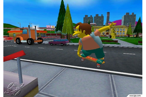 The Simpsons Skateboarding Screenshots, Pictures ...