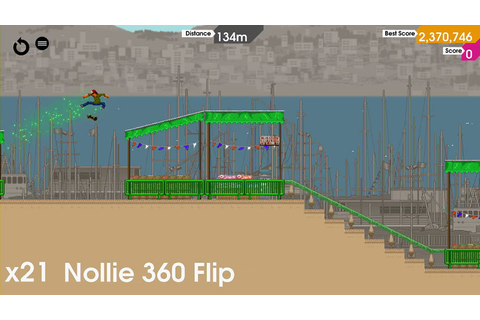 The PS Vita skateboarding game OlliOlli glides onto ...