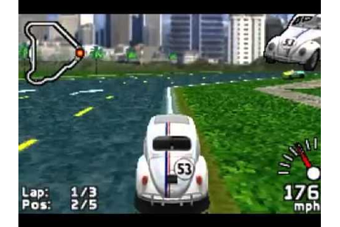 Game Boy Advance Herbie Fully Loaded - YouTube