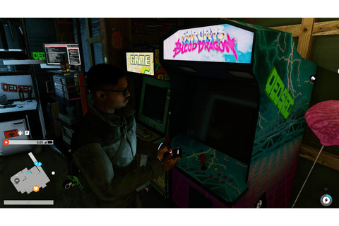Far Cry 3: Blood Dragon Arcade | Watch Dogs 2 Easter Eggs ...