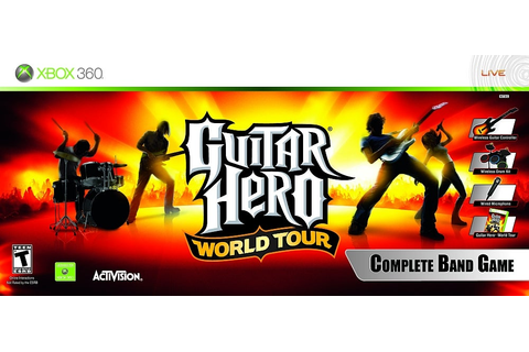 Guitar Hero World Tour Complete Band Game - Xbox 360 - IGN