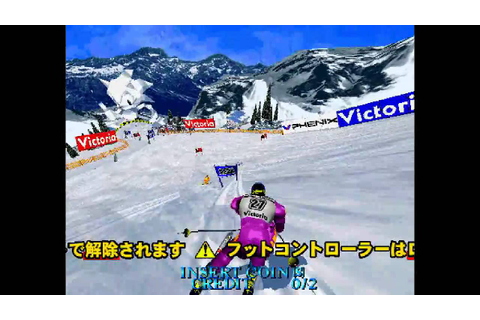 [HD] GAMETRONIK - SEGA SKI SUPER G - MODEL 2 [M2 EMULATOR ...