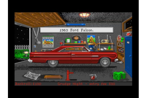 Street Rod 2 old DOS game from Amiga - YouTube