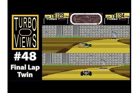 """Final Lap Twin"" - Turbo Views #48 (TurboGrafx-16 / Duo ..."