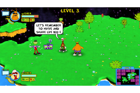ToeJam & Earl: Back in the Groove Review. | Game It All