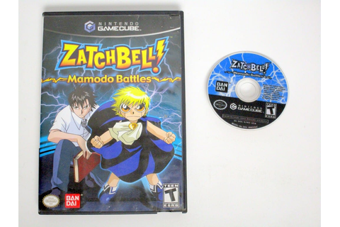 Zatch Bell Mamodo Battles game for Gamecube | The Game Guy
