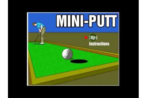 Mini Putt Golf Game 18 Hole In One Amazing - YouTube