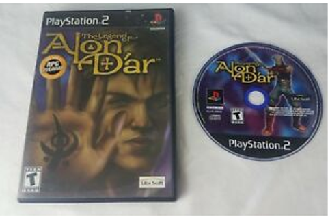 Legend of Alon D'ar Sony PlayStation 2 PS2 GAME 8888320210 ...