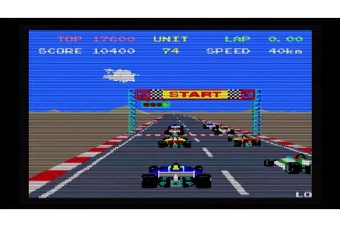 Pole Position 2 Arcade gameplay - YouTube