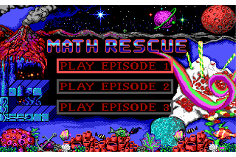 Math Rescue - My Abandonware