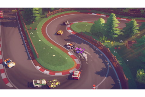 Circuit Superstars is a throwback racer coming from Square ...