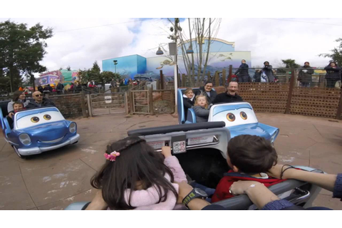Cars Quatre Roues Rallye Disneyland Paris - YouTube