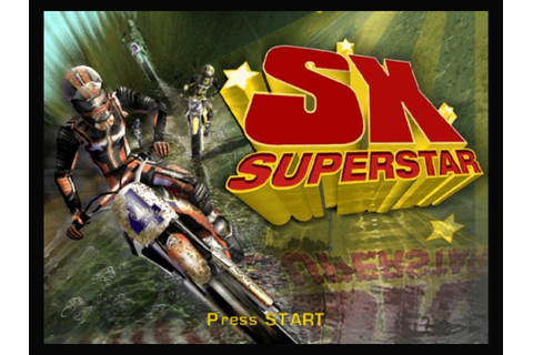 SX Superstar (2003) by Climax Group GameCube game