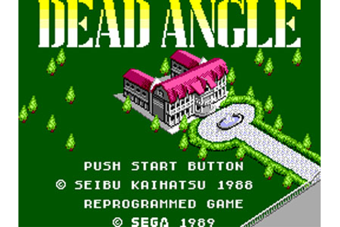Dead Angle Review for Master System (1989) - Defunct Games