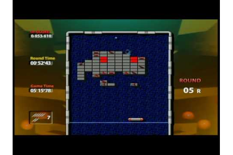 Arkanoid Plus! - Wii Ware - YouTube