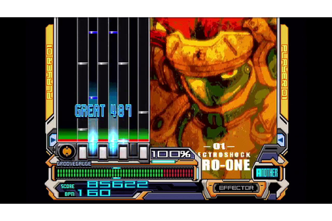 Beatmania IIDX 7th Style - ZERO ONE [ANOTHER] - YouTube