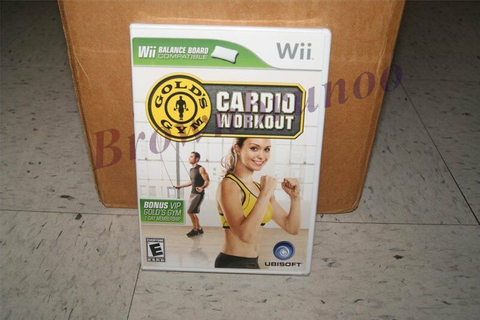 Gold's Gym Cardio Workout Wii Fitness Game Wii Balance ...