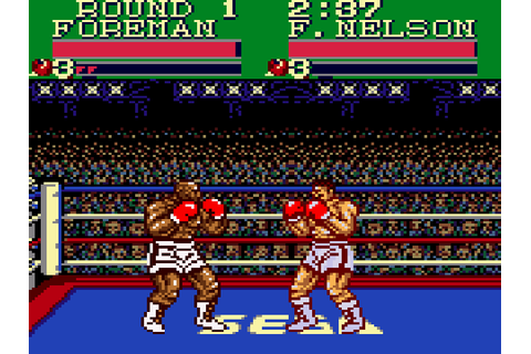 George Foreman's Knock-out Boxing Screenshots | GameFabrique