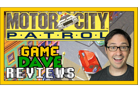 Motor City Patrol NES Review | Game Dave - YouTube