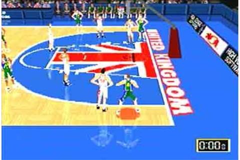 Screens: World League Basketball - PlayStation (2 of 10)